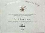 Dr. D. Ivan Young Presidential Lifetime Achievement Award 2017